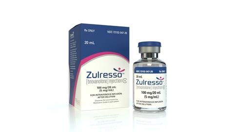 Sage Therapeutics Zulresso product image