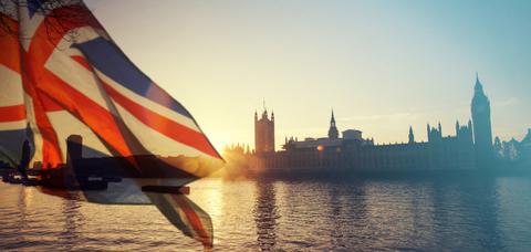 Union Flag Union Jack UK London