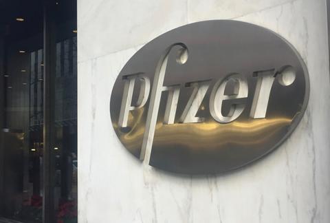 Pfizer sign