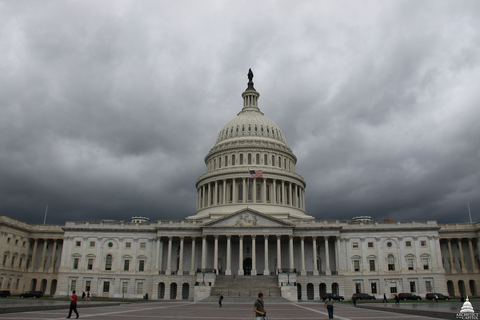stormy Capitol