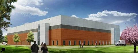 Rendering of Pfizer gene therapy facility