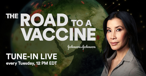 J&J online news series COVID-19 vaccine with Lisa Ling