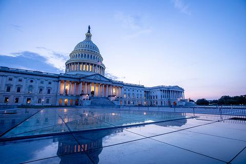 Congress at dusk