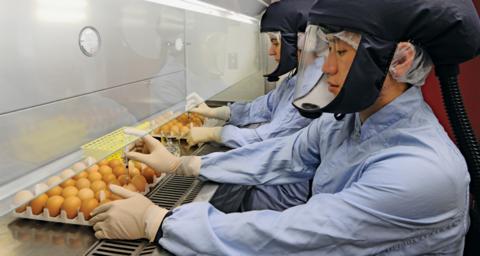 Seqirus flu vaccine production