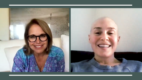 Katie Couric for Merck series on cancer during COVID-19
