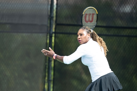Serena Williams for AbbVie Ubrelvy migraine med campaign