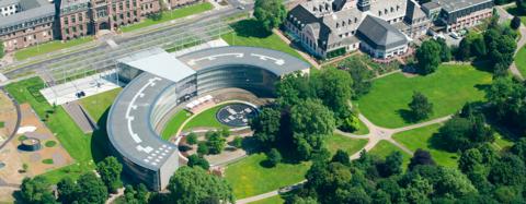 Bayer Headquarters site Leverkusen, Germany
