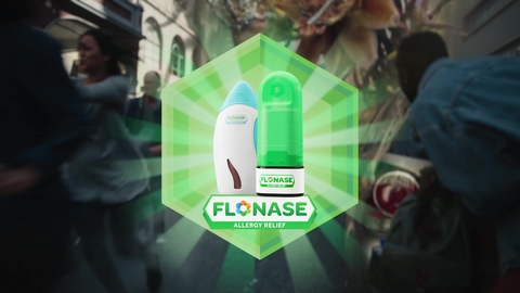 GlaxoSmithKline OTC campaign for Flonase spring 2021