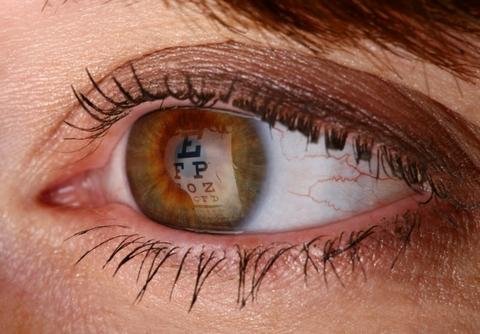 Eye Chart Eye Exam