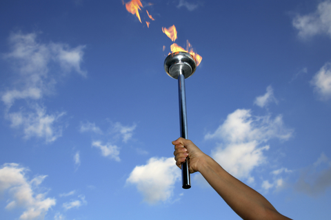 Olympic torch image