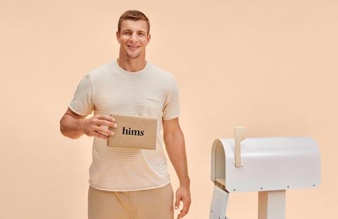 Hims Rob Gronkowski spokesman men's health campaign