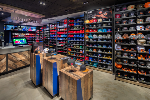 New Lids store concept combines tech, fun and fandom | FierceRetail