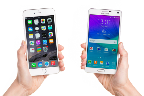 Android is edging out iOS in terms of brand loyalty (Image Krystian Nawrocki / iStockPhoto)