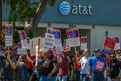 AT&T faces CWA lawsuit over recent DirecTV installer job cuts