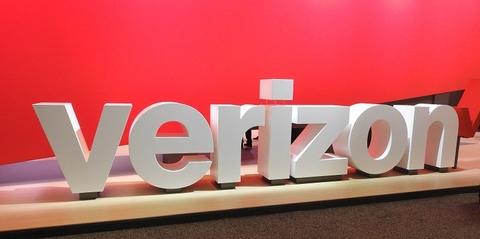 Verizon sign from MWCA