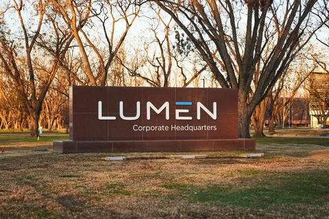 Lumen HQ sign