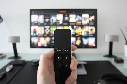 Apple TV room
