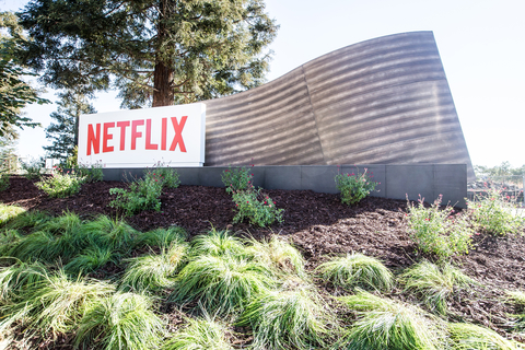 Netflix sign Los Gatos