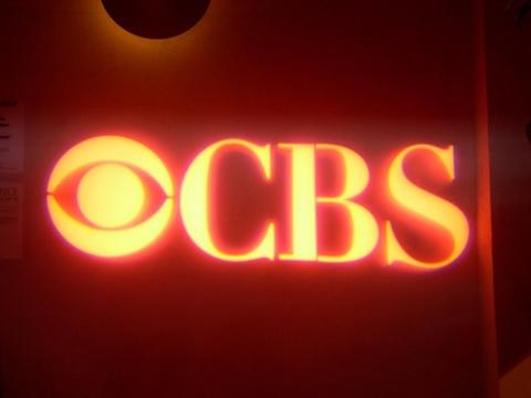 CBS logo red
