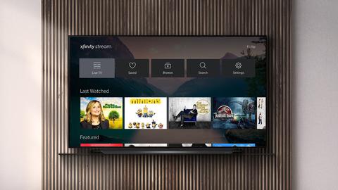 Comcast's Xfinity Stream app arrives on LG smart TVs