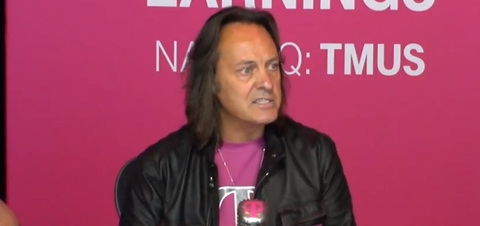 John Legere T-Mobile (Mike Dano / FierceWireless)