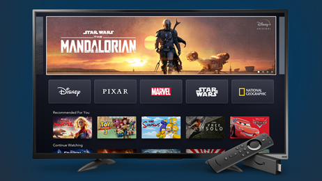 Amazon Fire TV Disney+
