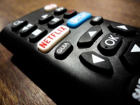 Netflix remote control image