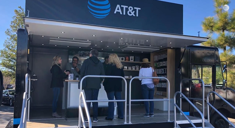 AT&T pop-up store (AT&T)
