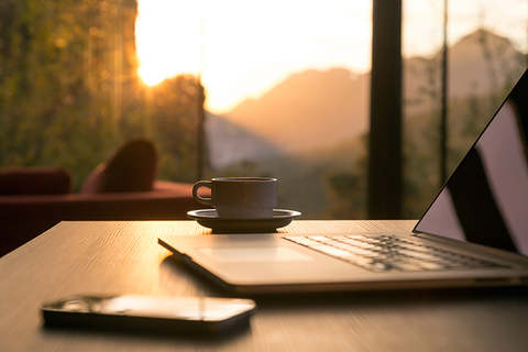 Laptop and coffee - AlexBrylov/iStock/Getty Images Plus/Getty Images