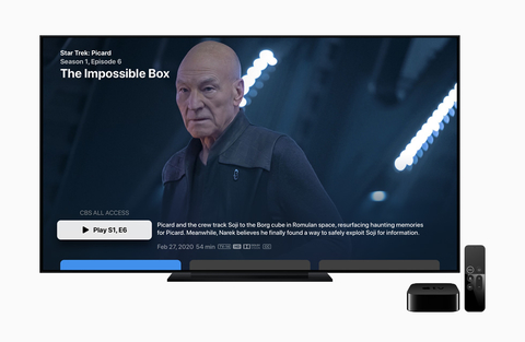 Apple TV CBS All Access