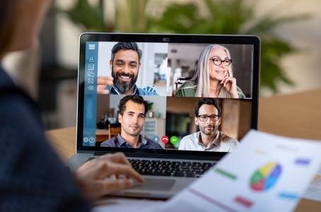 videoconferencing illo