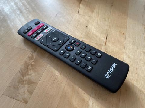 TVision remote