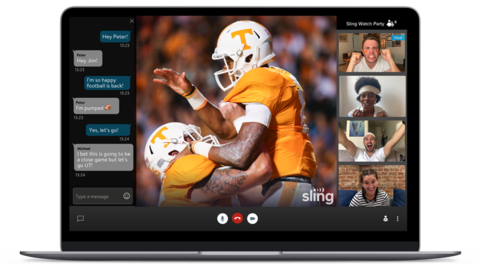 Sling TV Watch Party