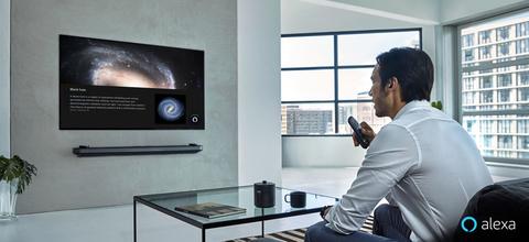 LG smart TV Amazon Alexa