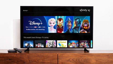 Disney Plus Comcast