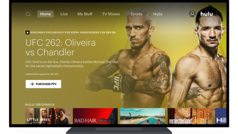 Hulu ESPN+ UFC