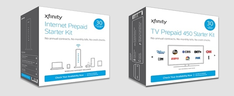 Sprint's Boost rolls out Comcast's prepaid Xfinity internet