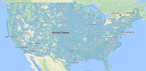 U.S. Cellular coverage area (U.S. Cellular)