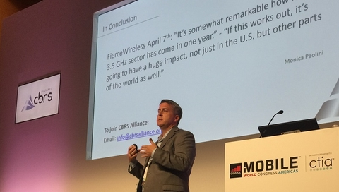 Charter Craig Cowden at MWC Americas