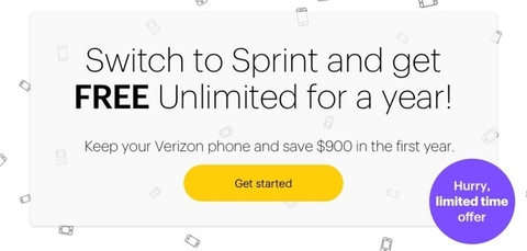 Sprint renews free year of service promotion through April