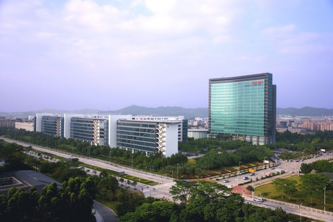 Huawei HQ building, China