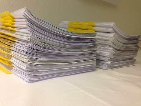 Stack of documents