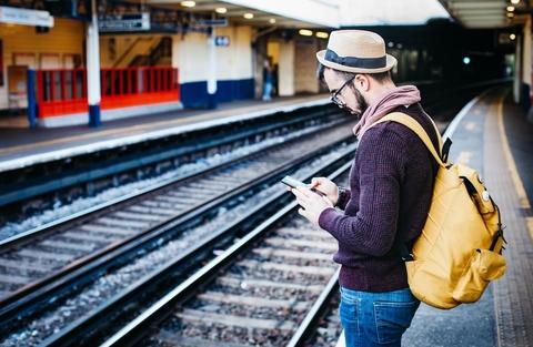 smartphone man