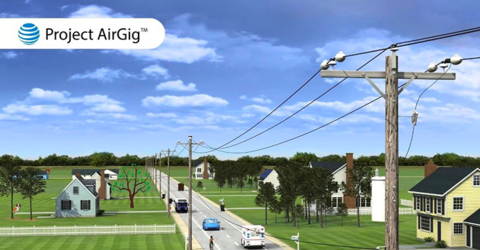 AT&T's Project AirGig could extend 5G mmWave signals