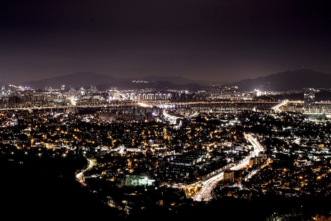 City at Night, SOuth Korea