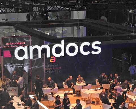 Amdocs booth