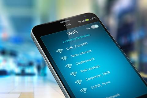 Wi-Fi smartphone