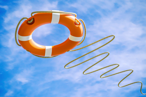 Throwing a life preserver