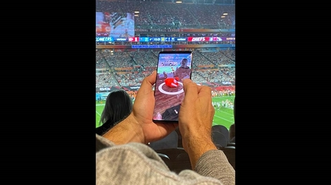Verizon NFL game