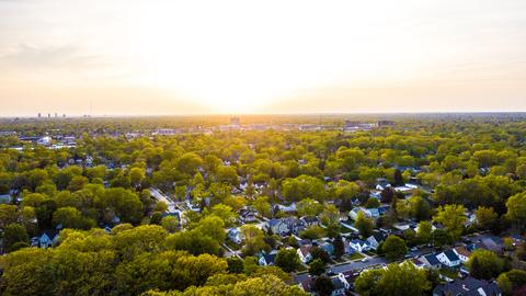Michigan suburbs